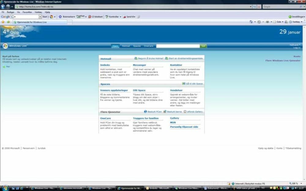 Logg deg på din Windows Live Messenger-konto før du begynner. Er du pålogget kan du gå direkte til trinn tre.