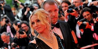 GÅR MOT SLUTTEN: Madonna og Guy Ritchies ekteskap henger i en tynn tråd