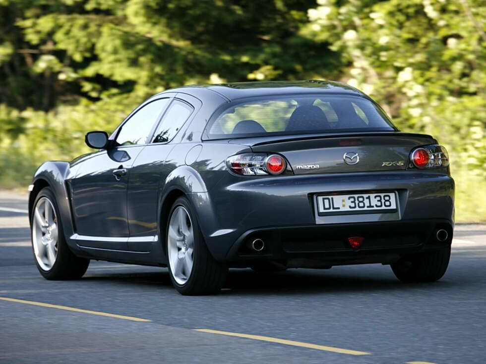 test mazda rx 8 arkiv. Black Bedroom Furniture Sets. Home Design Ideas