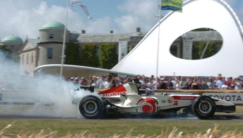 Festivalen neste helg blir en fantastisk oppvisning av alle tiders motorsportskjøretøyer.