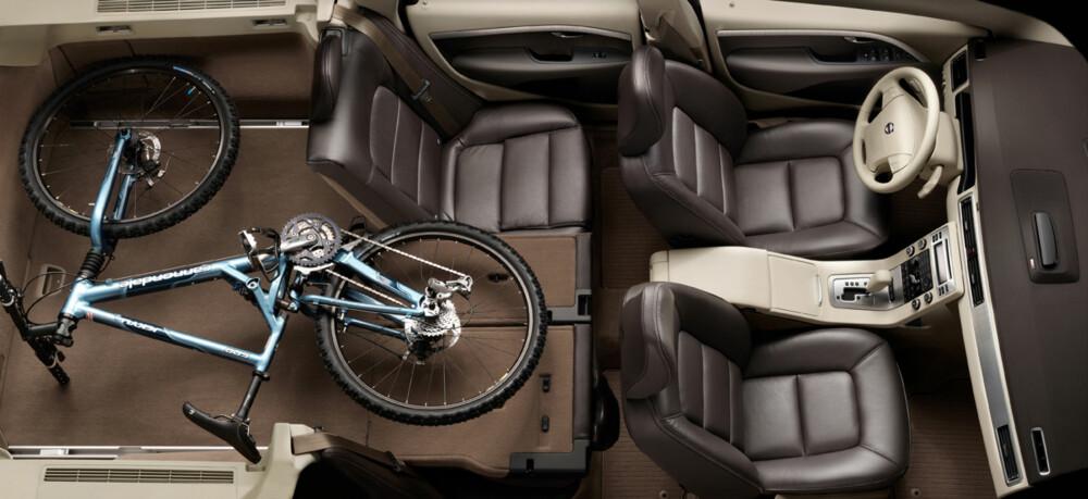 ROMMELIG: Innvendig plass er et godt argument for å velge Volvo V70 eller XC70.
