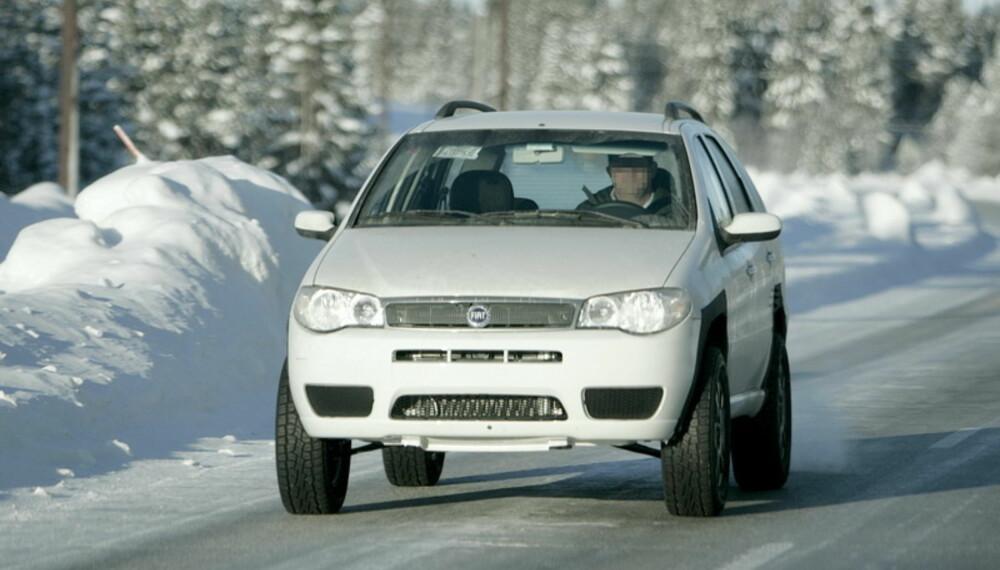 Alfa Romeos SUV testes med et Fiat-skall strukket over all teknikken. Foto: Automedia