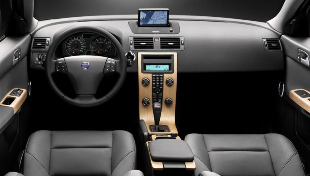 Sobert og rent  Volvo viderefører sitt særegne interiør.