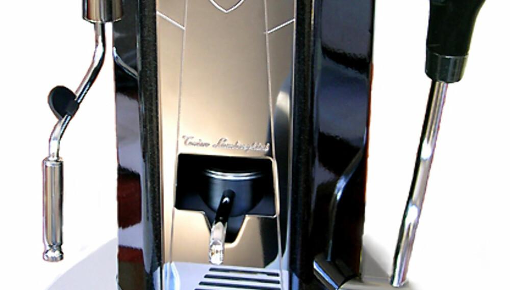 Lamborghini-espressomaskinen er ikke bare eksklusiv og flott - den skal visstnok også lage god kaffe.