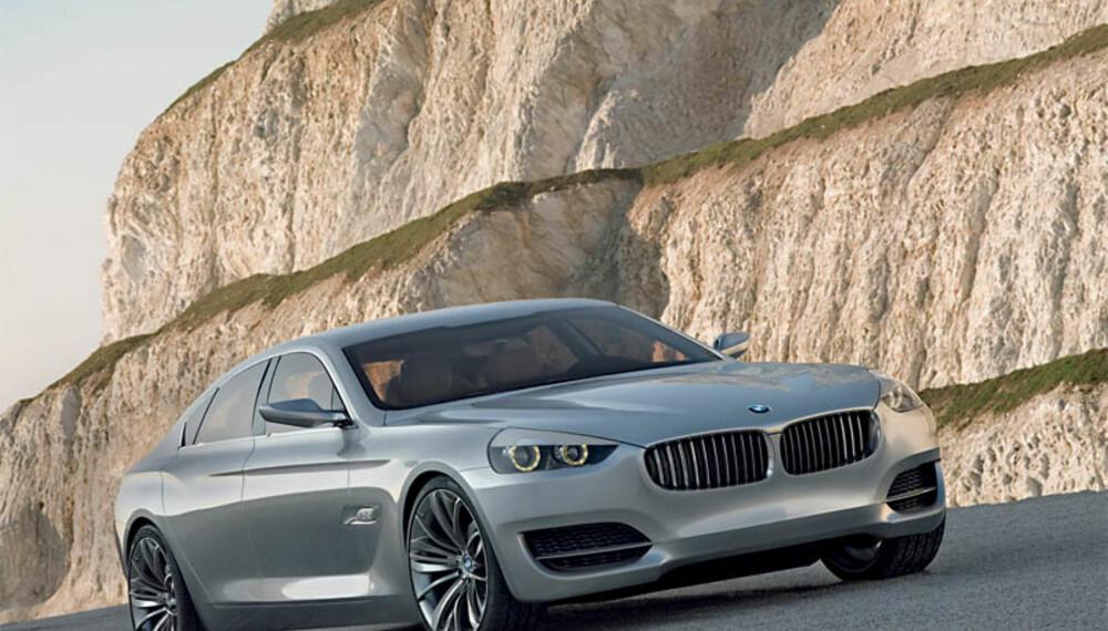 CS-konseptet hinter om en stor, elegant, kjapp og luksuriøs firedørs coupé.