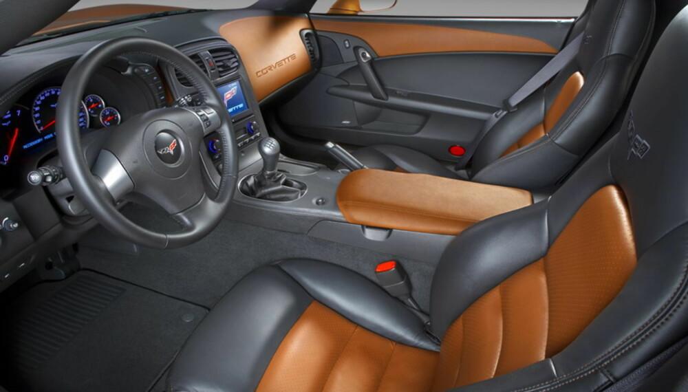 Setene har fått bedre sidestøtte, noe som også er en hyggelig oppgradering. Foto: General Motors
