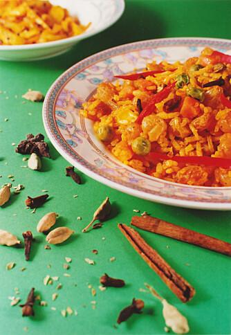 INDISK: Mat fra India inneholder ofte det fordelaktige krydderet.