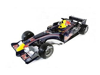 Red Bull satser stort på showet, og har med seg både en ny F1-bil, masser av aktiviteter, og mange muligheter for at du kan lære mer om hvordan F1 er og hva slags teknikk som brukes her.