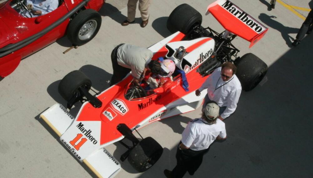 Gamle og ikke fullt så gamle Grand Prix-biler stiller på Donington Park 18. til 20. mai.