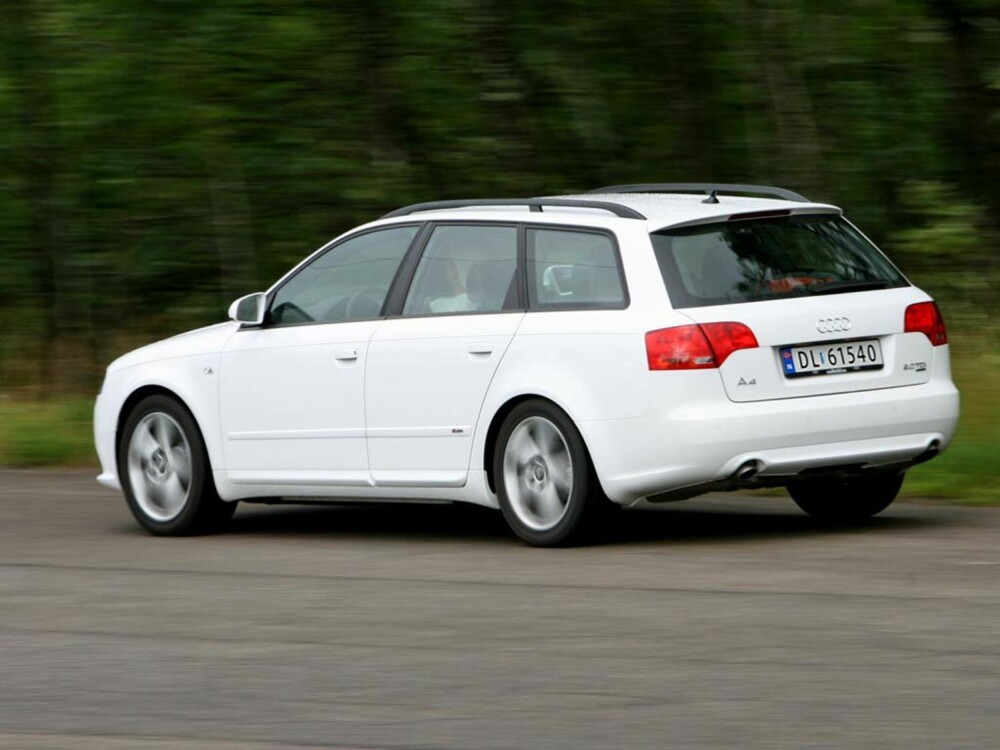 test audi a4 avant 2 0 tdi quattro 2007 arkiv. Black Bedroom Furniture Sets. Home Design Ideas