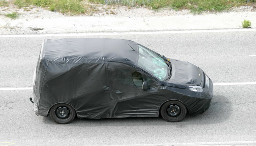"""Bilen blir enda mer praktisk innvendig, og får en """"søtere"""" design enn dagens modell. Den skal skille seg ut i trafikken. Foto: Automedia"""