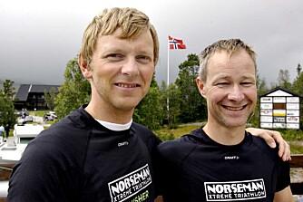 Vi fulgte Are Skjævestad (t.v.) og Rune Skinnerlien gjennom blodslitet. Foto: Thorkild Gundersen