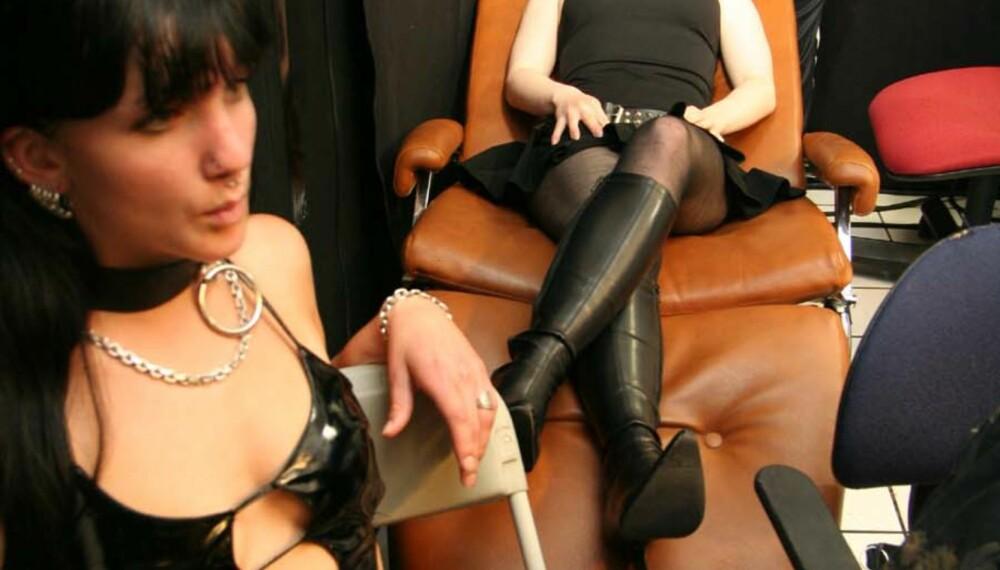 Vi Menn ble med på forberedelsene til Sexhibition 2007. Foto: Peter Nagy