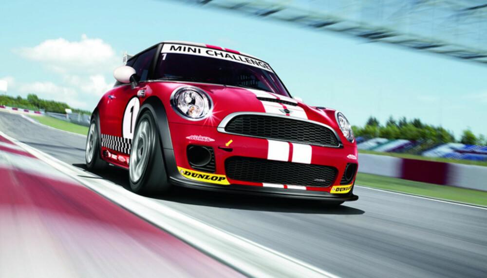 Løps-Minien har fått et tøft utseende, og 210 hk setter fin fart på den.
