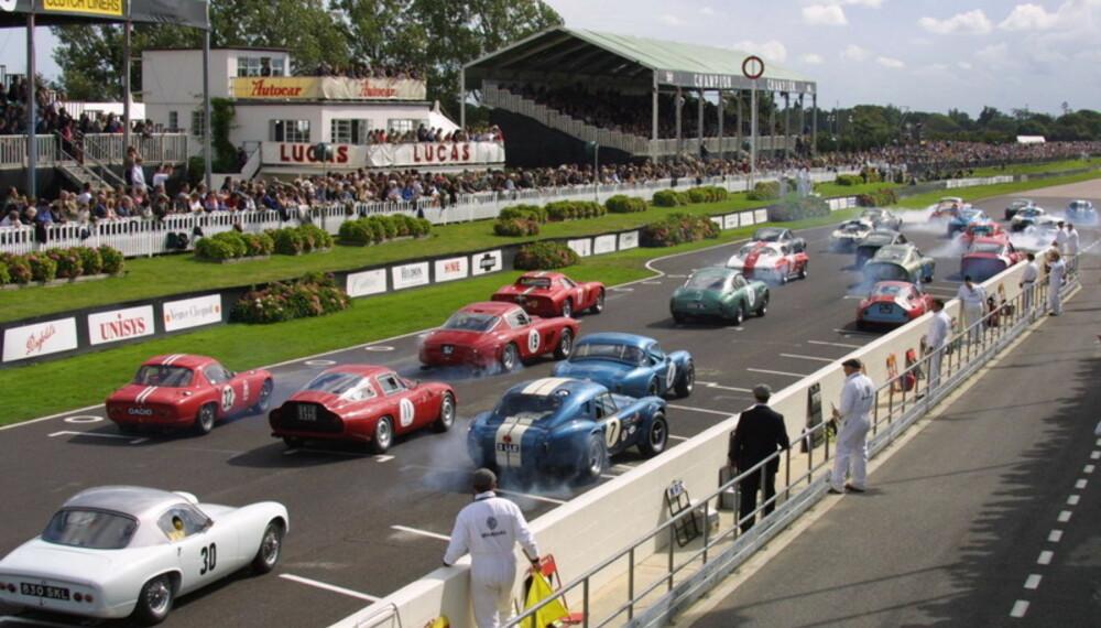 Startfeltet blir omfattende og kostbart; regn med å se svært mange legendariske og meritterte løpsbiler med kjente førere bak rattet.