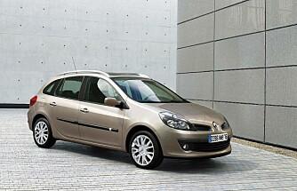 Et tydelig Renault-ansikt, slik vi også kjenner det igjen fra dagens modeller.