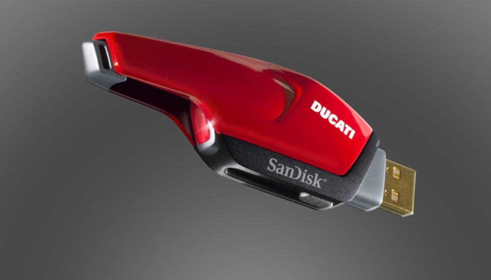 Det finnes mange flotte USB-minneplugger. Denne må da vel være en av de vakreste.