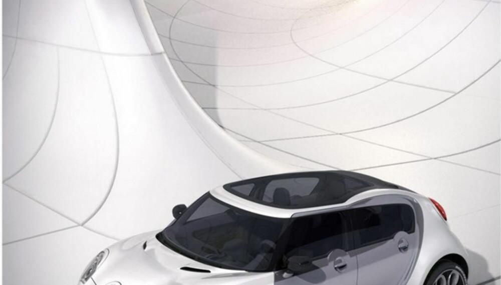 Med dieselhybrid er bilen svært billig og miljøvennlig i drift.