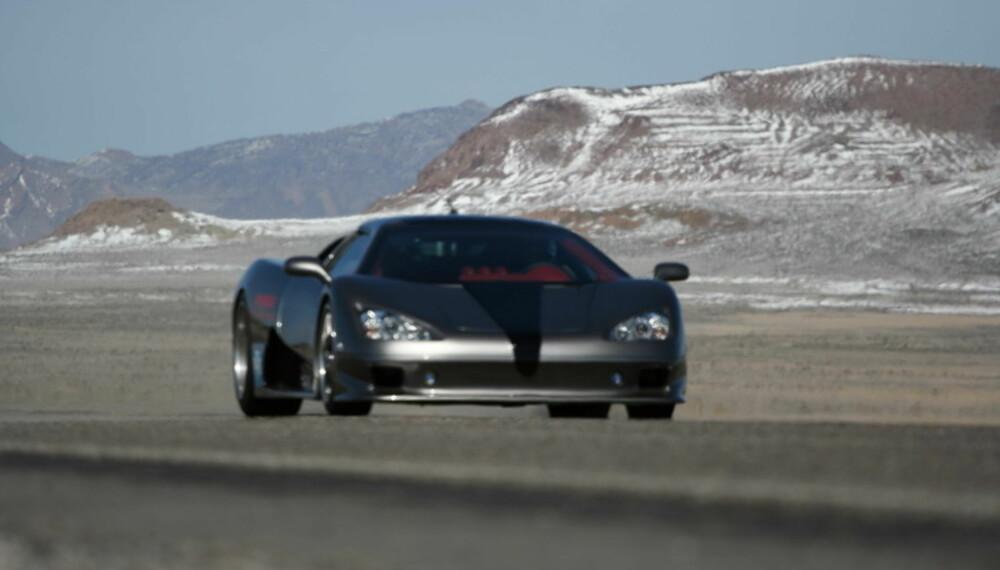 Ultimate Aero er velutstyrt og luksuriøs, men den er også verdens raskeste produksjonsbil. 411,76 km/t er fort!