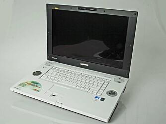 Qosmio er spekket med multimediefunksjonalitet, og er Toshibas serie for komplette underholdningsmaskiner.