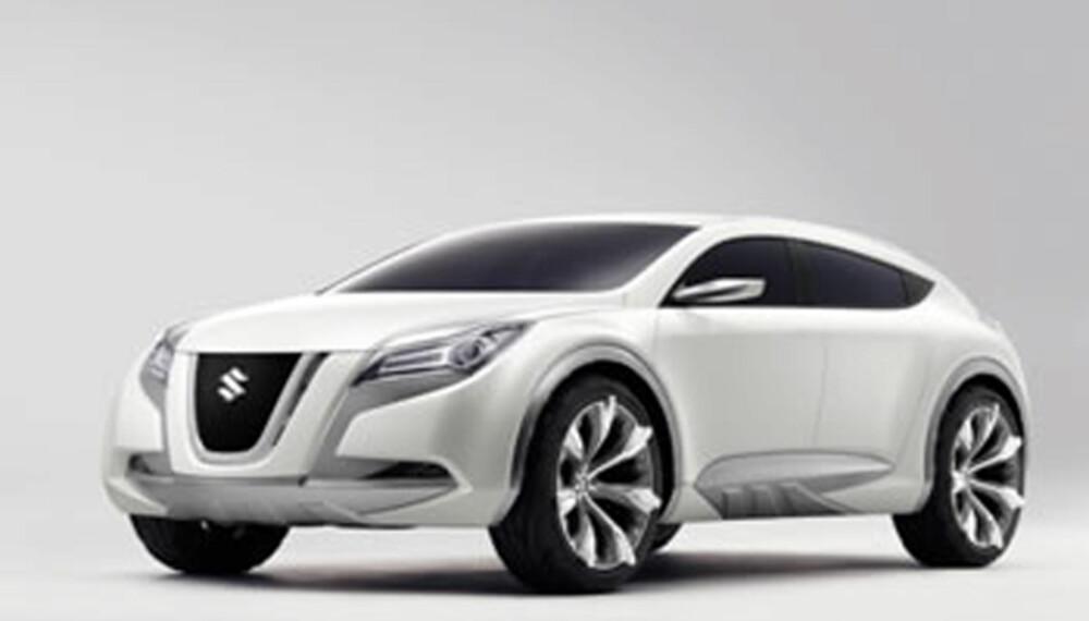 Concept Kizashi 2 hinter om tøffe takter fra Suzuki.