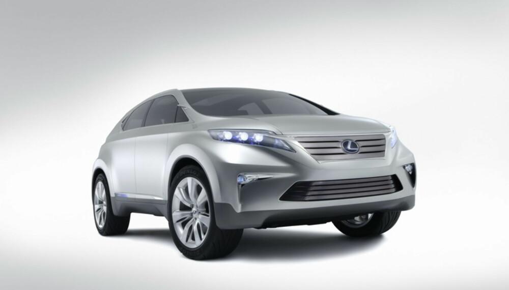 Hybrid-SUV´en er bredere, lengre og lavere enn dagens RX.