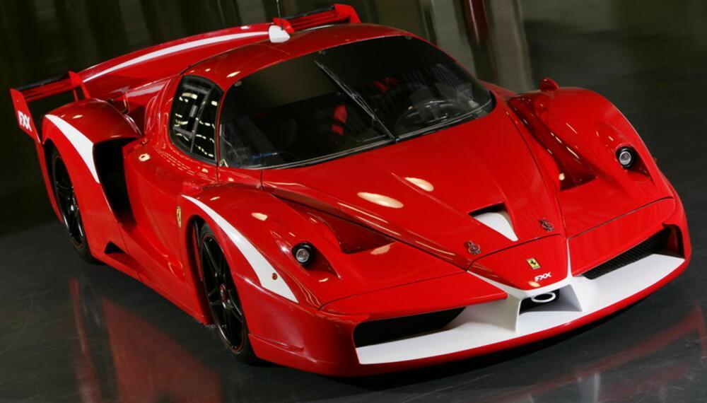 Etter at de private, ikke-profesjonelle testførerne har fått si sitt, har Ferrari lagd en oppgraderingspakke til FXX som har gjort den enda mer ekstrem.