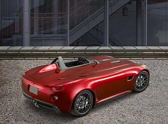 Pontiacs endringer av Solstice-utseendet, litt senking og et sett større hjul, har gjort den til en ordentlig linjelekker bil.