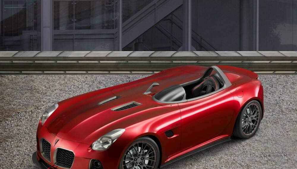 Med relativt enkle grep er en tøff roadster omdannet til en moderne racerbil i vakker, klassisk stil.