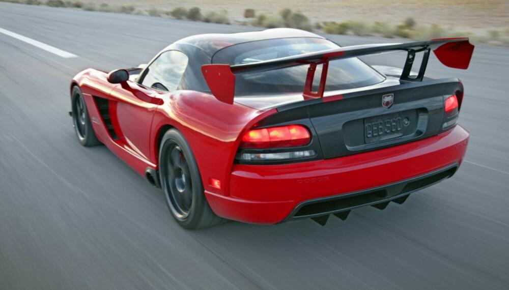Med 600 hk skal den sette voldsomt god fart på seg. Siden understellet er kraftig bearbeidet, skal den også være svært kjørbar.
