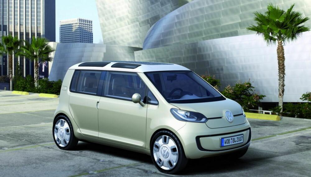 Space Up! Blue er en mer rommelig variant av Volkswagens kompakte bybil-konseptserie.