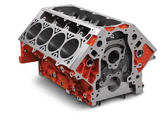 LSX-blokka skal være konstruert for å tåle 2500 hk.
