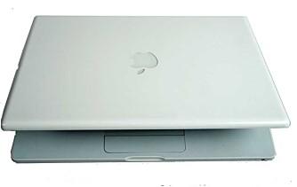 IKON: MacBook er i enkelte miljø et designikon på linje med iPod.