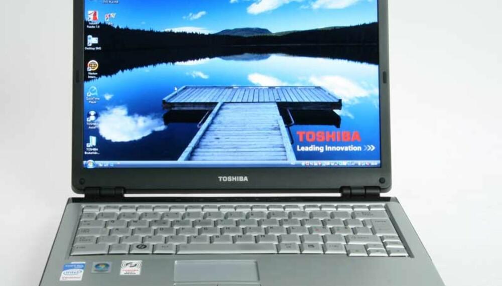 LITE TULL: Det er lite tull med Toshiba Satellite U300-1Z.