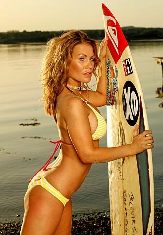 SURFER VIDERE: Helene har lagt den vonde tida bak seg, og er klar for sommer og sol