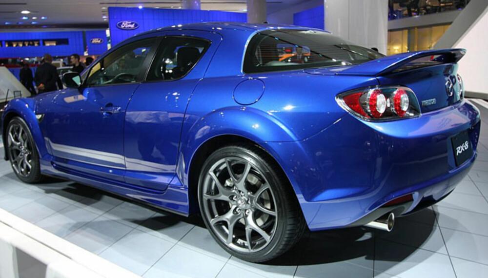 Mazda jubilerer, og feirer med en spesialutgave av Mazda RX8.