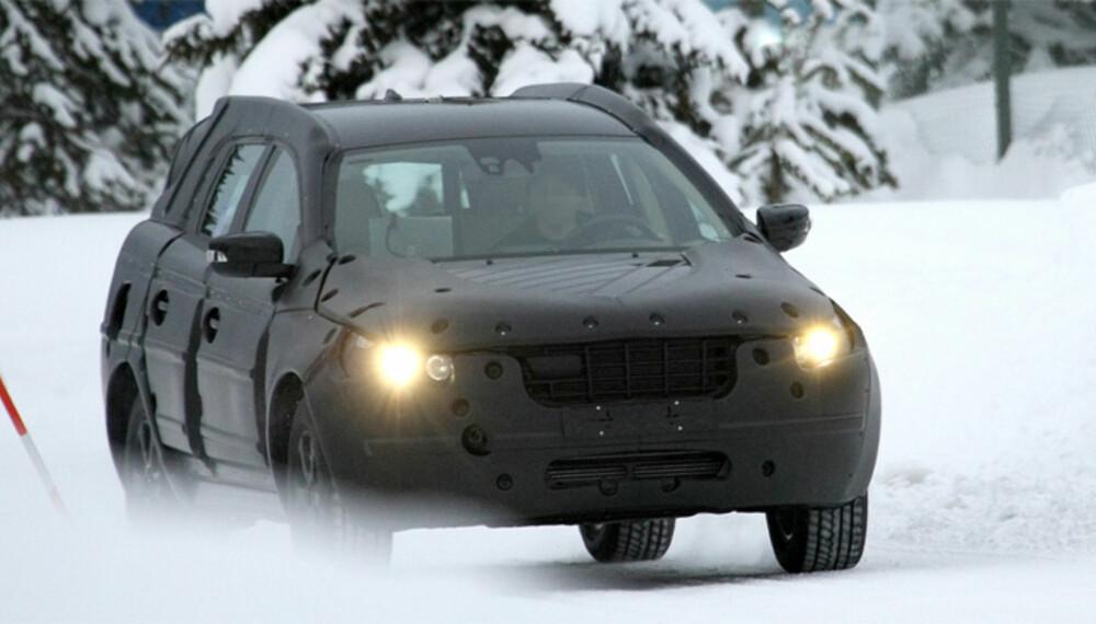 XC60 kommer om et års tid, og før det må bilen naturligvis testes grundig under alle forhold. Foto: Automedia