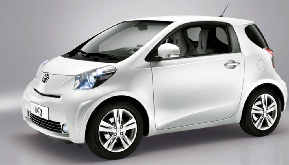 Produksjonsmodellen av Toyota iQ skal bli akkurat slik som denne ser ut. Det skal vi ikke klage på.