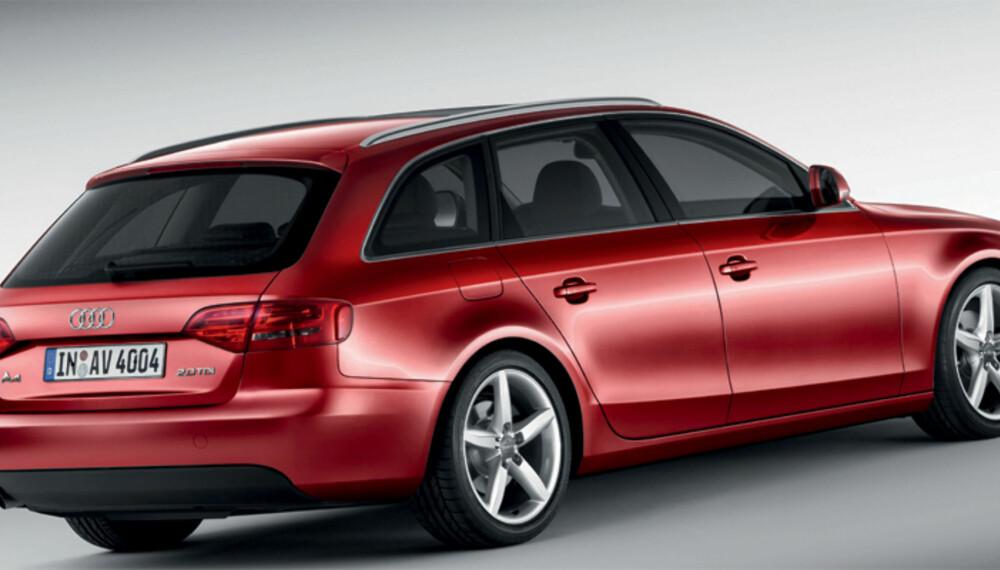 Likhetstrekkene med storesøster A6 Avant er naturligvis sterke, men likevel har A4 Avant sin egen stil.