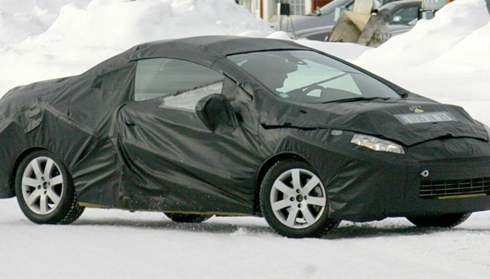 Den åpne 308-varianten skal lanseres om et års tid ¿ klar for sommeren ´09. Foto: Automedia