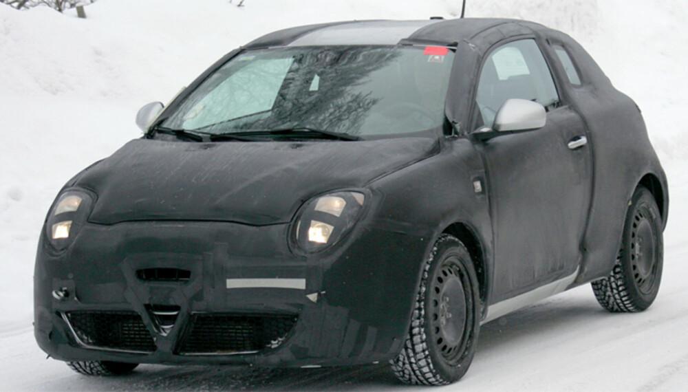 Den lille Furiosa får en umiskjennelig Alfa Romeo-snute, kort akselavstand og mange snertne detaljer. Foto: Automedia