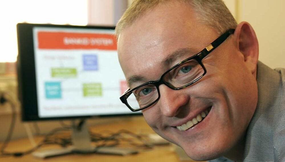 PROFESSOR Kjell Jørgen Hole hacket BankID.