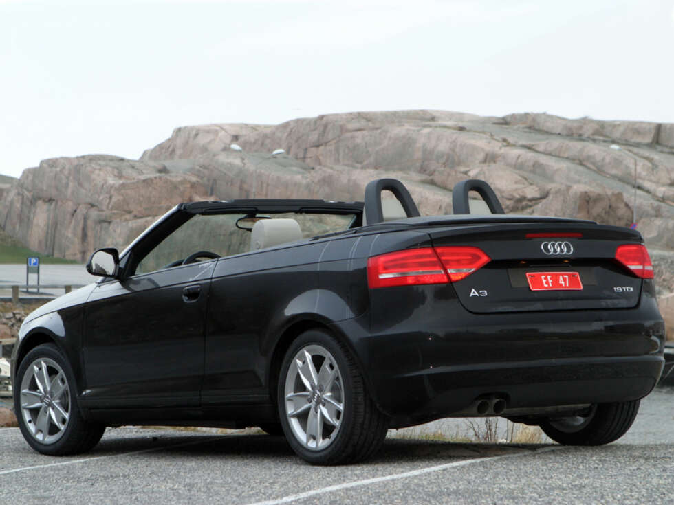 test audi a3 cabriolet 1 9 tdi 2008 arkiv. Black Bedroom Furniture Sets. Home Design Ideas