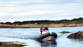 HYTTEBÅT: Capelli Tempest 650 Nordic skal gjøre det enklere å velge RIB framfor tradisjonelle hyttebåter (FOTO: Terje Bjørnsen).