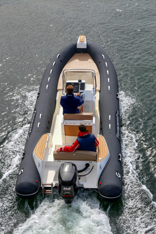 GOD PLAN: 650-modellen har en planløsning med god kombinasjon av praktiske løsninger og sjøegenskaper (FOTO: Terje Bjørnsen).