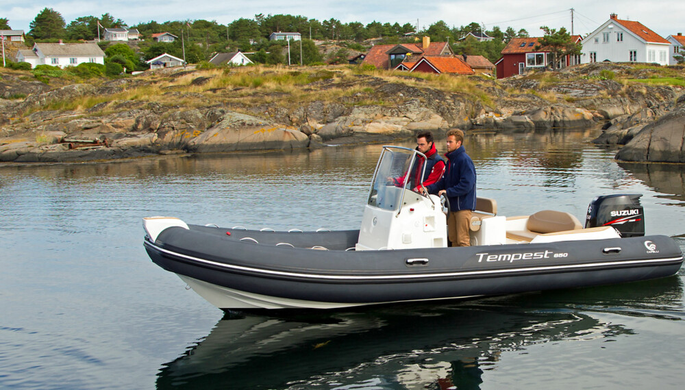 HYGGE: Capelli Tempest 650 Nordic fungerer helt greit til hygge- og hyttebruk (FOTO: Terje Bjørnsen).