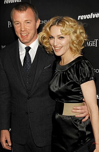 GIFT LENGE: Madonna og Guy har vært gift siden slutten av 2000, noe som er en evighet i Hollywood.