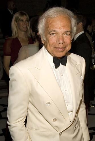 Designer Ralph Lauren stakk av med den gjeveste prisen.
