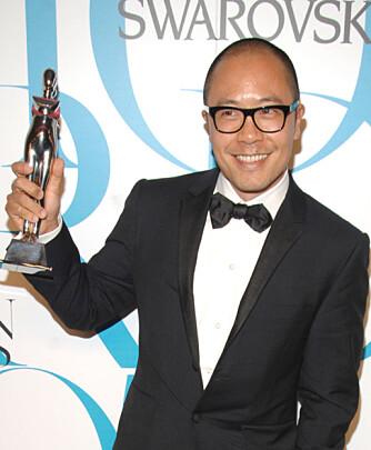 Designer Derek Lam fikk også pris.
