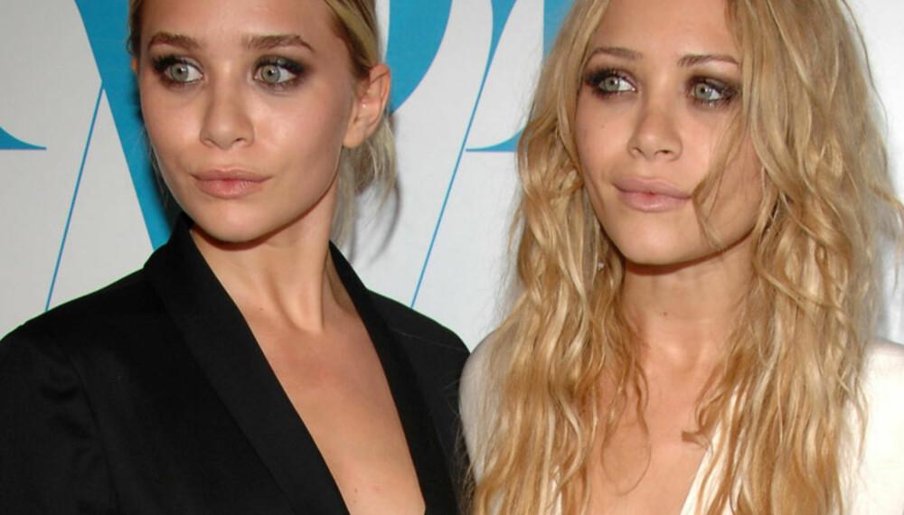 De motebevisste tvillingene Mary-Kate Olsen og Ashley Olsen var selvskrevne gjester under årets Fashion Awards i New York.